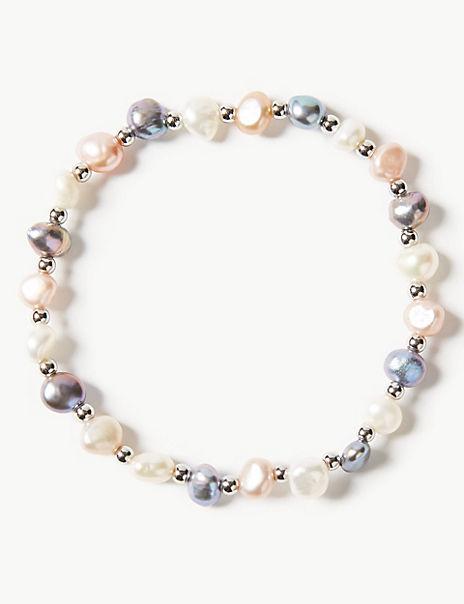 Pearl Effect Fresh Water Bracelet