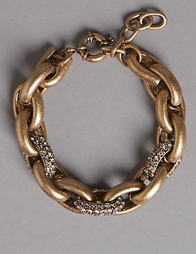 Glitzy Link Bracelet