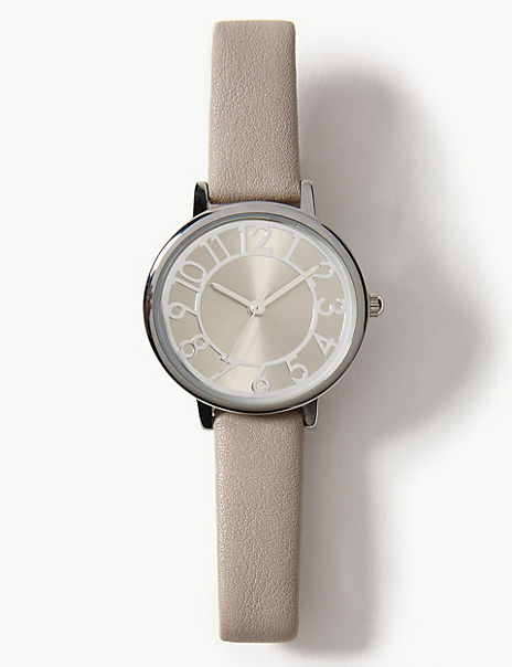 Bold Digits Strap Watch