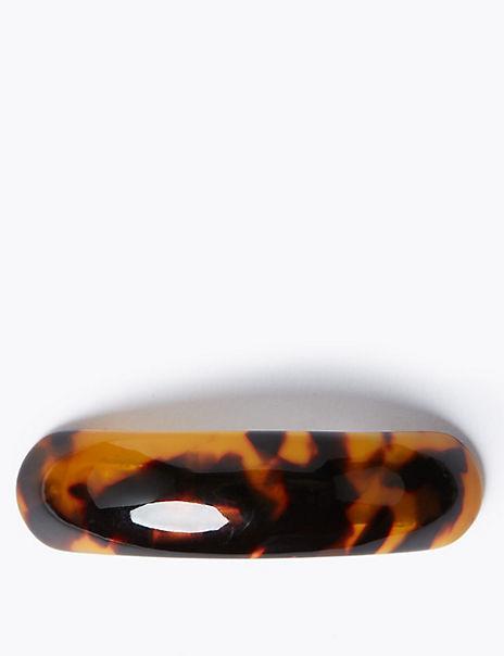 Resin Curve Hair Clip