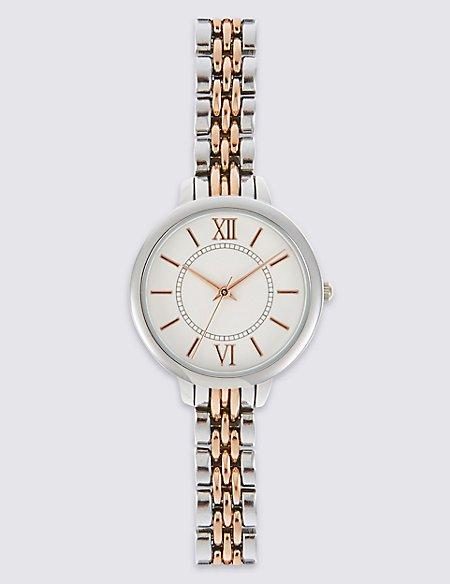 Round Face Bracelet Watch