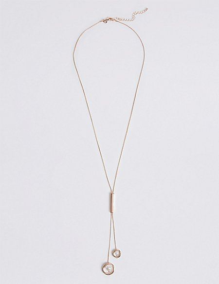 Pearl Stick Necklace