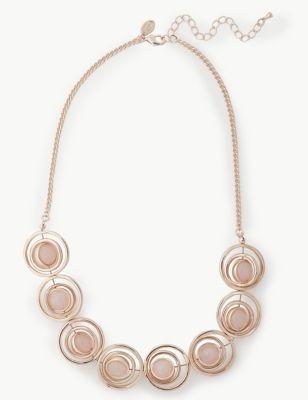 Rose Quartz Necklace by Marks & Spencer