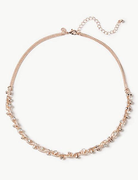 Drum Collar Necklace