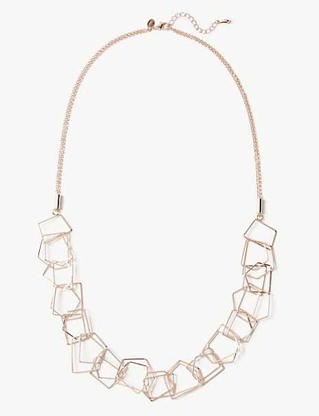 Hexagon Rope Necklace