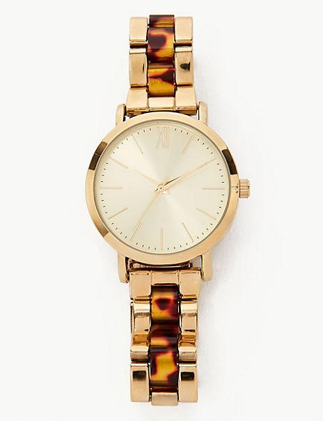 Tortoise Chain Bracelet Watch