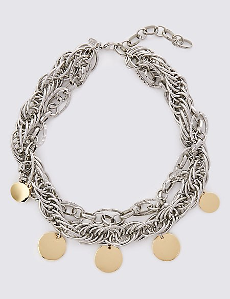 Charmy Chain Collar Necklace