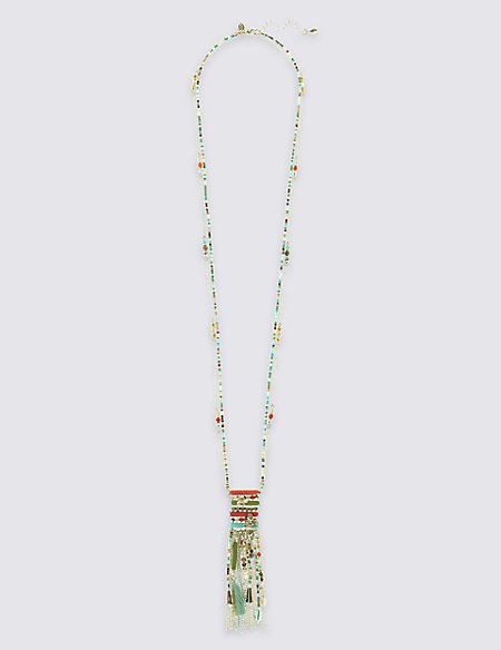 Enchanted Tassel Necklace