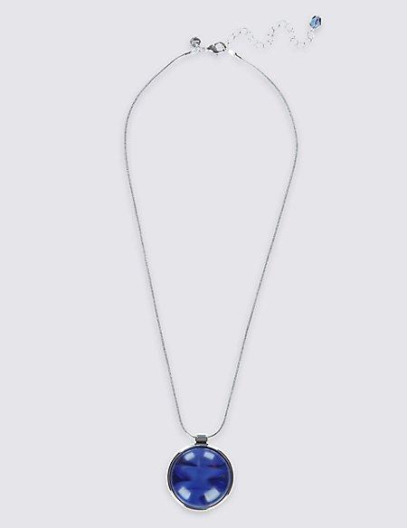 Blue Moon Pendant Necklaces
