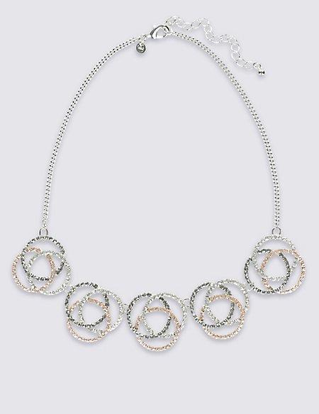 Swirl Glam Necklace