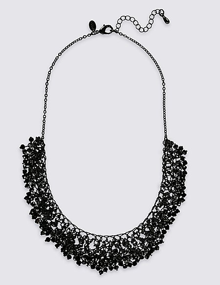 Ball Chain Droplets Necklace