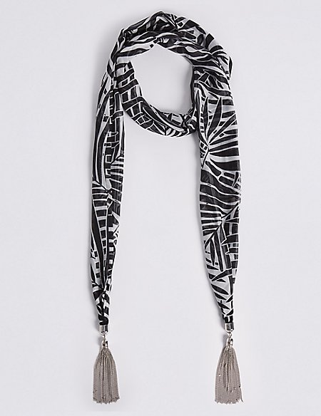 Printed Jewellery Scarf