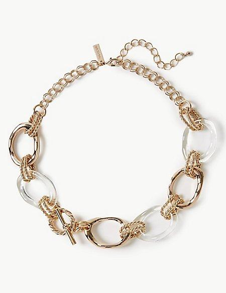 Linked Rocks Necklace