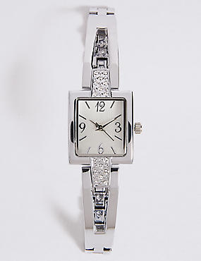 Square Face Bracelet Watch
