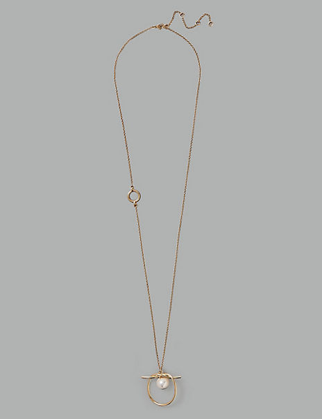 Circle Knot Necklace