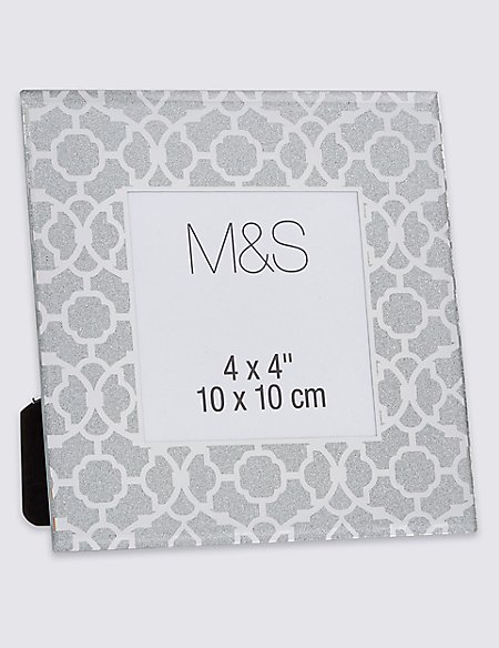 Glamour Glitter Frame 10 x 10cm (4 x 4\'\') | M&S Collection | M&S