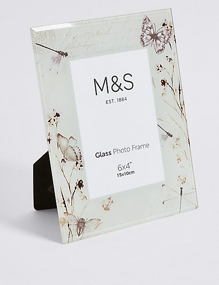 Butterfly Bloom Frame 15 x 10cm (4 x 6inch) | M&S Collection | M&S