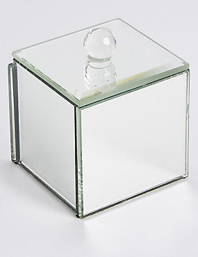 Mini Crystal Jewellery Box
