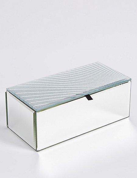 Glitter Spray Medium Jewellery Box