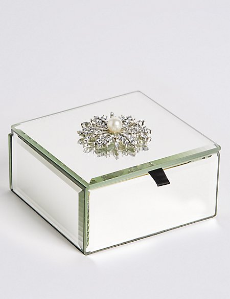 Flower Brooch Trinket Box
