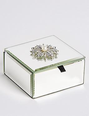 Flower Brooch Trinket Box