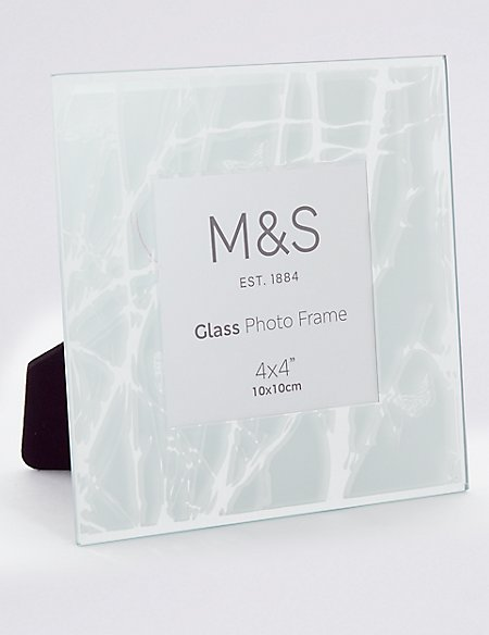 Frost Forest Photo Frame 10 x 10cm (4 x 4inch) | M&S Collection | M&S