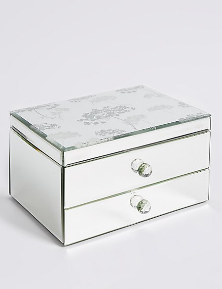 Cherry Blossom 2 Drawer Jewellery Box
