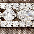 Platinum Plated Pretty Band Ring , SILVER, swatch