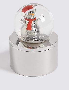 Snow Globe Trinket Box