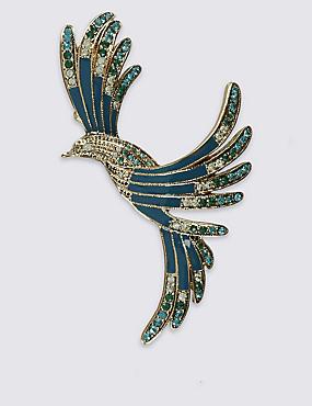 Vintage Mocking Bird Brooch