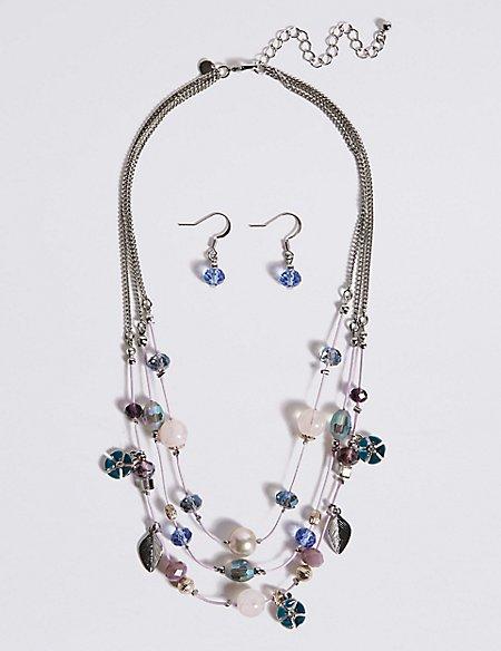 Pretty Bead Jewellery Set