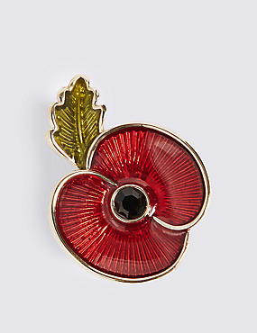 The Poppy Collection® Enamel Brooch