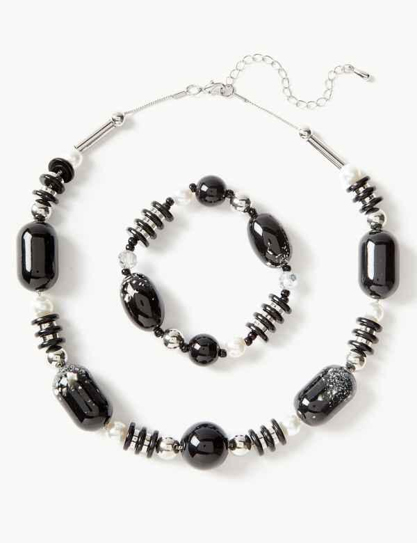 51884e8e3c Fleck Necklace   Bracelet Set