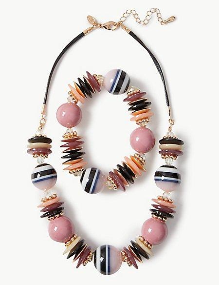Artisan Necklace & Bracelet Set