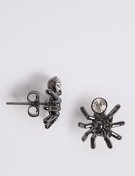 Spider Stud Earrings