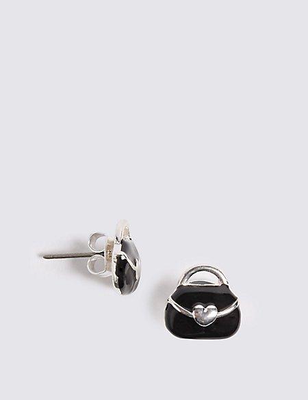 Miniature Handbag Earrings