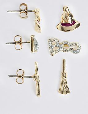 Halloween Multi Pack Earrings Set