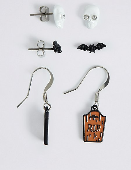 Halloween Multi Pack Earrings Set
