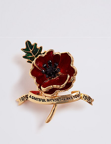 The Poppy Collection® Bill Skinner Limited Edition Brooch