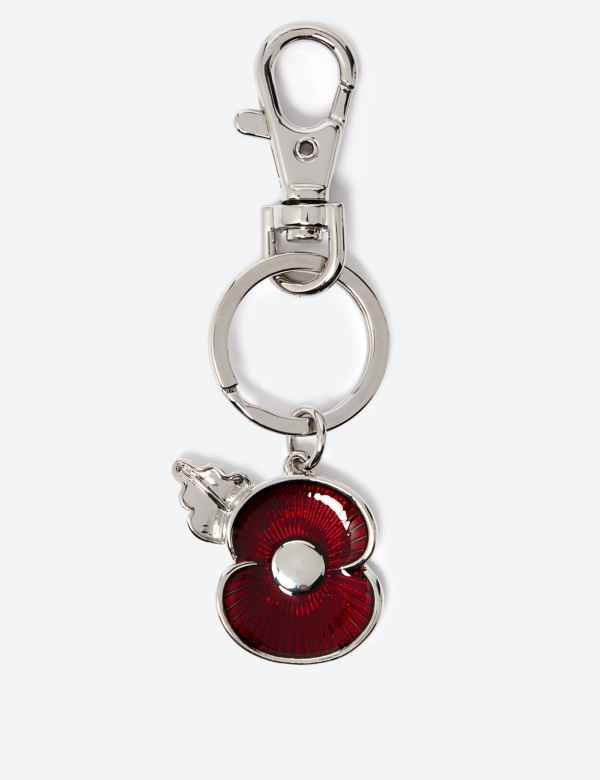 Poppy Jewellery | Remembrance Enamel Brooches & Charms | M&S