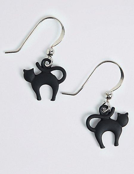 Halloween Cat Earrings
