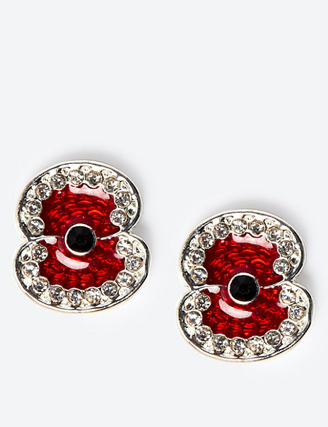 Hero Poppy Stud Earrings