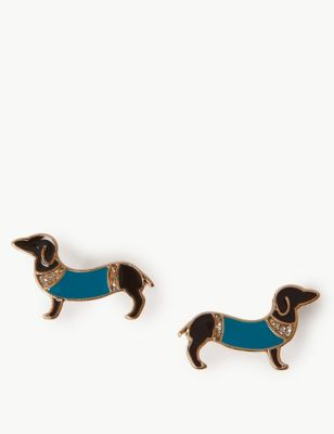 sausage-dog-earrings by marks-&-spencer