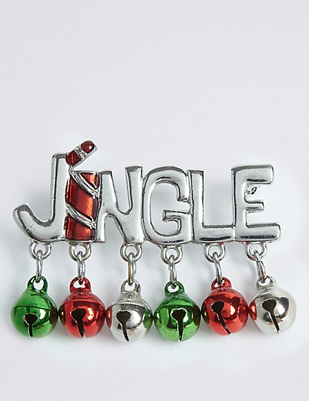 Jingle Brooch