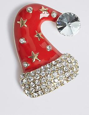 Christmas Hat Brooch