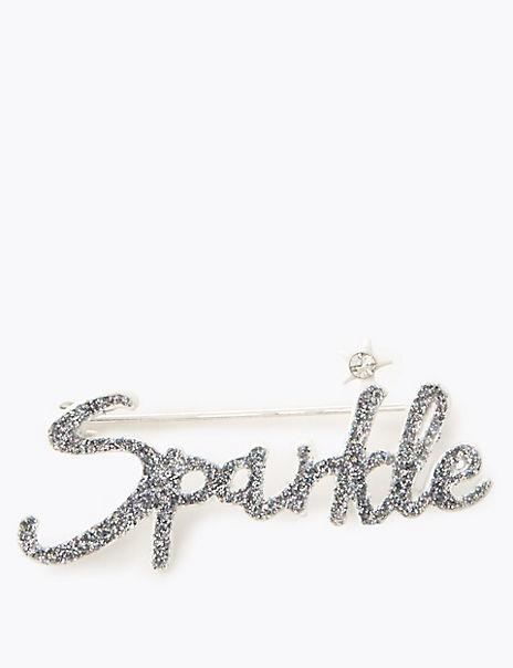 Sparkle Brooch