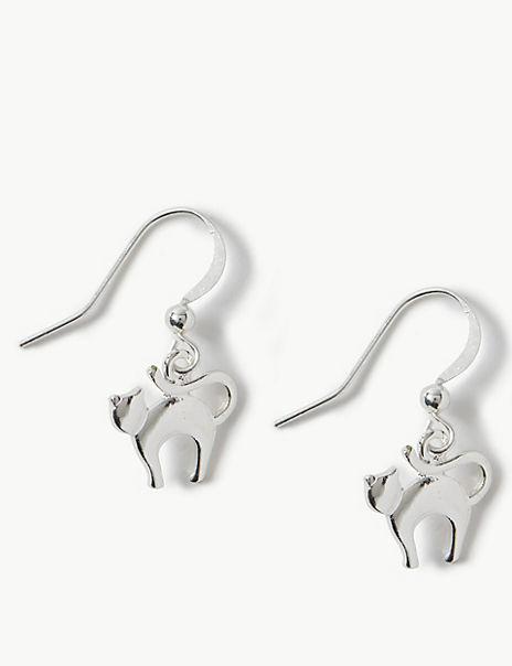 Animal Drop Earrings