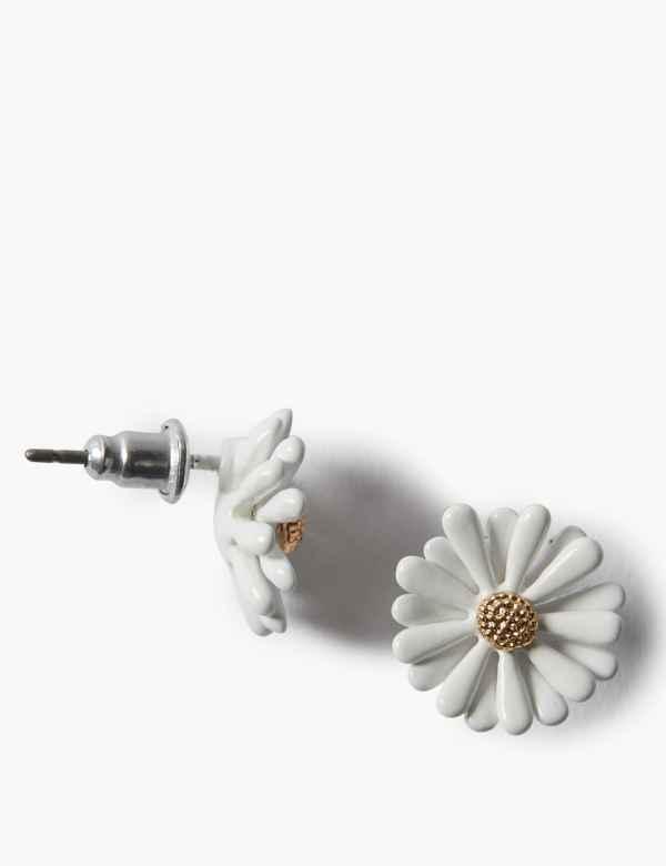 521aea04c713 Flower Stud Earrings