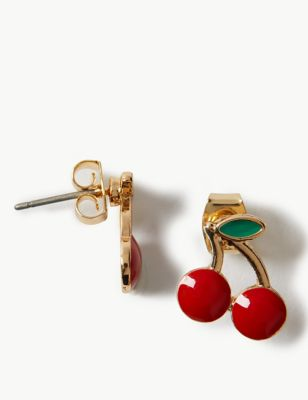 6dd6e415c3a Cherry Stud Earrings £5.00