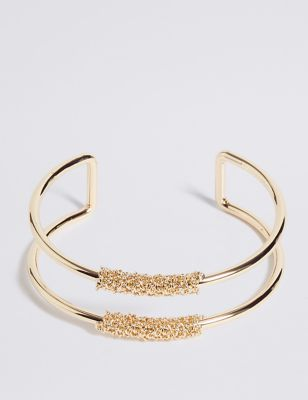 Double Bar Bracelet by Marks & Spencer